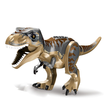 ts8000 jurassic dinosaurs base tyrannosaurus escape building blocks toys kids diy bricks gift for children compatible with lepin 28cm Large Jurassic Dino Building Blocks Heavy Claw Dragon Compatible Bricks Dinosaurs Boys Toys Jurassic Park For Children Gift