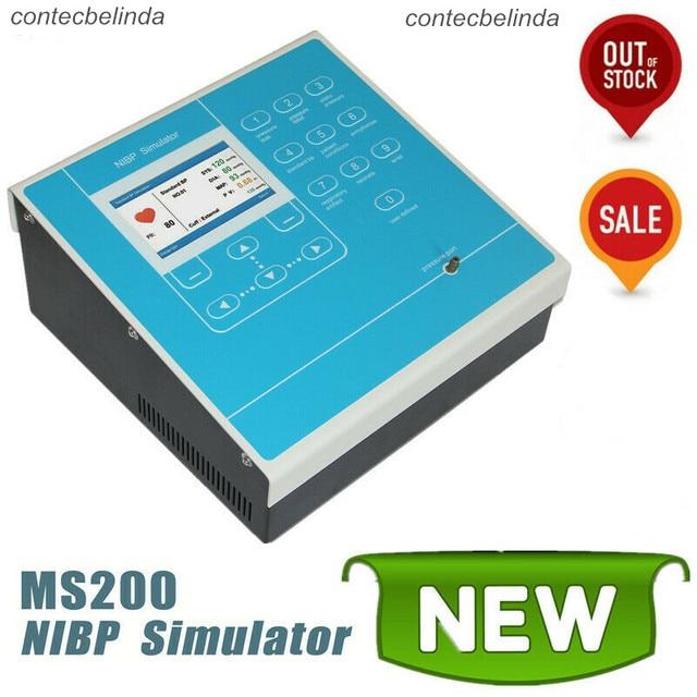 CONTEC MS200 NIBP Simulator Non-Invasive Blood Pressure simulation COLOR LCD 2020 1
