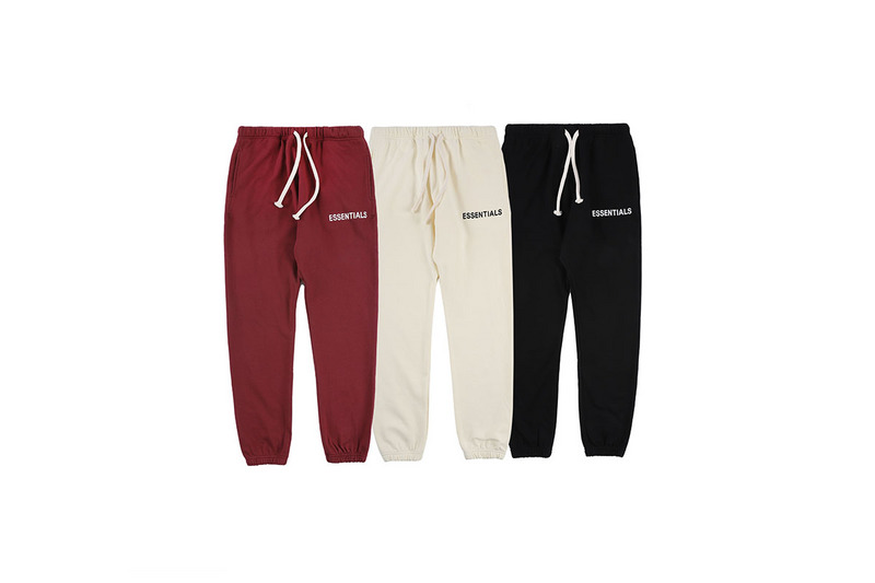 2019 FG ESSENTIALS Logo Printed Jogger Pants Sweatpants Hiphop Hi Street Brand Men Casual Pants Joggers Elastic Waist
