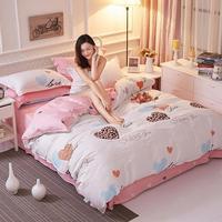 7 Bed Set Kids Cartoon Anime 100 Cotton Bedding Set Soft Bed Linen Cotton For Children