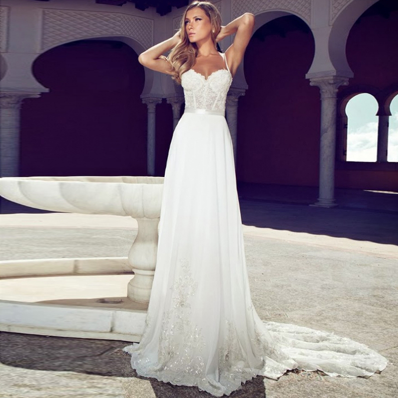 2018 New Gorgeous Beach See Through Romantic Princess Formal Custom Sexy Backless Bridal Gown Mother Of The Bride Dresses
