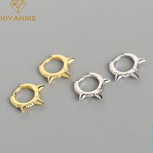 XIYANIKE – boucles d'oreilles en argent Sterling 925, anneau de luxe léger, Rivet en diamant, mode exagérée, Sexy, boucles d'oreilles, cadeau, nouvelle collection