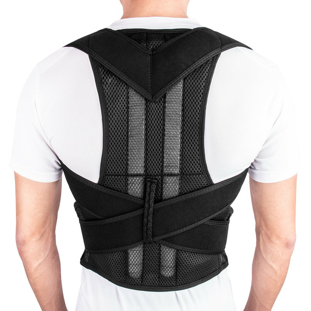 Adjustable Posture Corrector Upper Back Shoulder Support Adult Children Back Belt Orthotics Back Support