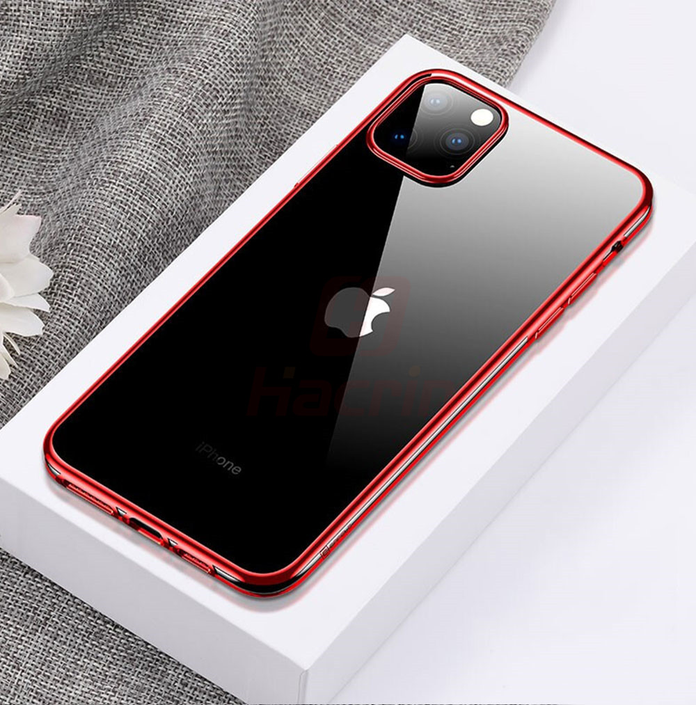 Hacrin Transparent TPU Silicone Case for iPhone 11/11 Pro/11 Pro Max 13