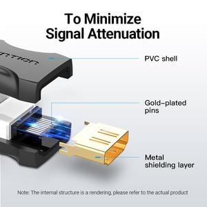 Image 4 - Przedłużacz HDMI Adapter HDMI złącze żeńskie do żeńskiego 4k HDMI 2.0 Adapter przedłużający do kabla PS4 Monitor HDMI