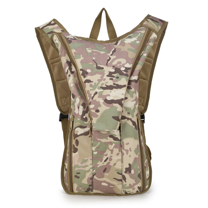Sports Outdoor Backpack Sports Outdoor Hydration Pack Riding Army Fans Bike Mountaineering Bag Water Bag Backpack