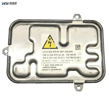 1X YCK Original 1 307 329 240 01 Xenon Headlight D1S D1R HID Ballast Used Car light accessories 1307329240 A2048700126