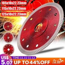 105/115/125mm Diamond Saws Blade Hot Pressed Sintered Mesh Turbo Cutting Disc For Granite Marble Tile Ceramic