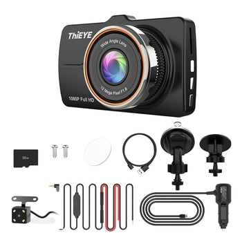 for Carbox 5R Car Dash Cam Real 1080P Full HD Front Camera with 720P HD IP67 Water Resistant Rear Camera Dual Lens Car Recorder