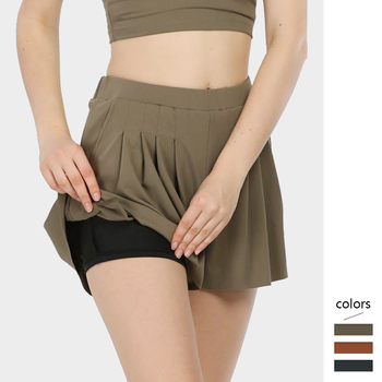 Summer Women Draped Shorts Skirts with Pocket Elastic Waist Loose Comfortable Short Pants Sports Fitness Breathable Mujer