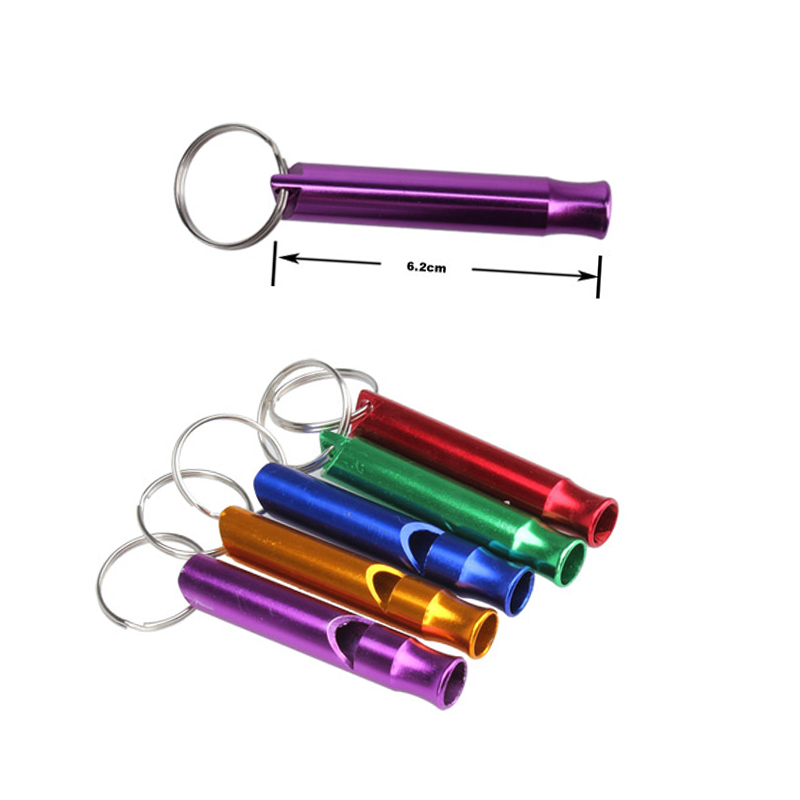 Metal Whistle Pendant Keychain Keyring Outdoor Camping Survival Whistles Emergency Whistling VH99