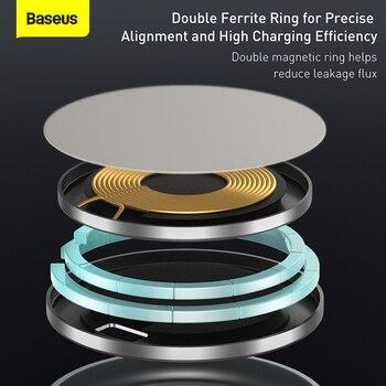 Магнитная беспроводная зарядная подставка Baseus 15 Вт 6
