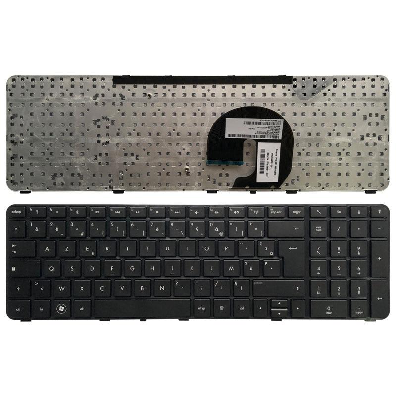 Французская клавиатура для ноутбука HP Pavilion dv7-4000 DV7-4050 dv7-4100 dv7-4200 dv7-5000 LX7 FR черная с рамкой