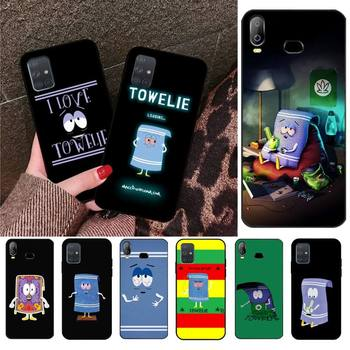 HPCHCJHM New towelie episode Anti-dirty Coque Shell Phone Case For Samsung A10 A20 A30 A40 A50 A70 A71 A51 A6 A8 2018 image
