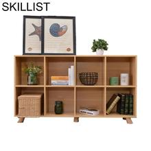 Kids Camperas Boekenkast Mueble Cocina Oficina Meuble De Maison Bois wooden Retro Furniture Decoration Bookcase Book Case Rack