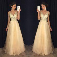 Бокал для шампанского v образным вырезом платье выпускного с
