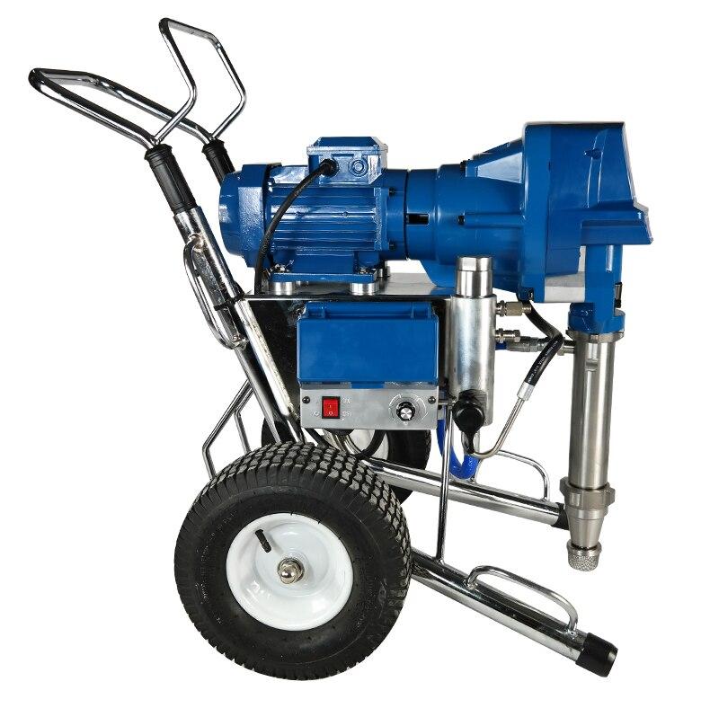 High Pressure Airless Putty Powder Spraying Machine Multi-function Engineering Spray Paint Machine 220V 4500W 16L/min