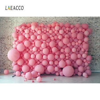 Laeacco Old Brick Wall Pink Balloons Photography Backgrounds Photo Backdrops Birthday Photophone Baby Shower Photozone Photocall laeacco baby shower photophone starry sky moon clouds photography backgrounds birthday backdrops newborn photocall photo studio