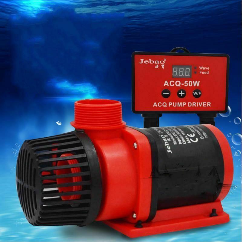 Насос для аквариума Jebao ACQ DC + контроллер, тихий морской аквариум для коралловых рифов, водяной насос для пруда с режимом волнового производи...