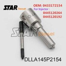 Estrella inyector Diesel partes DLLA145P928 0 433, 171 de 618 del rociador de punta para boquilla DLLA 145P 928 para 0445110049 de 0986435095