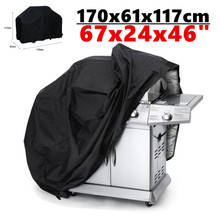 210D 170x61x117 cm Rain Water Proof Dust Anti Sun BBQ Grill Cover Garden Outdoor Barbeque Barbecue Gas Protector Cover Case D40
