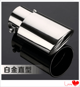 Car Rear Exhaust Pipe Tail Muffler Tip Auto Exhaust System Tail Pipe Replacement for BMW E46 E39 E38 E90 E60 E36 F30 F30 image