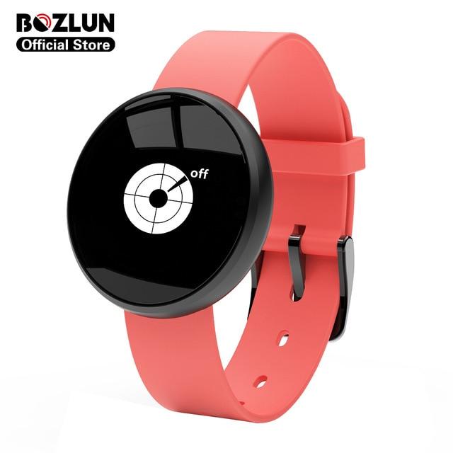 Bozlun B16 mode étanche dames Smartwatch femmes montre intelligente Mini Tracker Anti-perte alarme intelligente étanche Bluetooth traceur