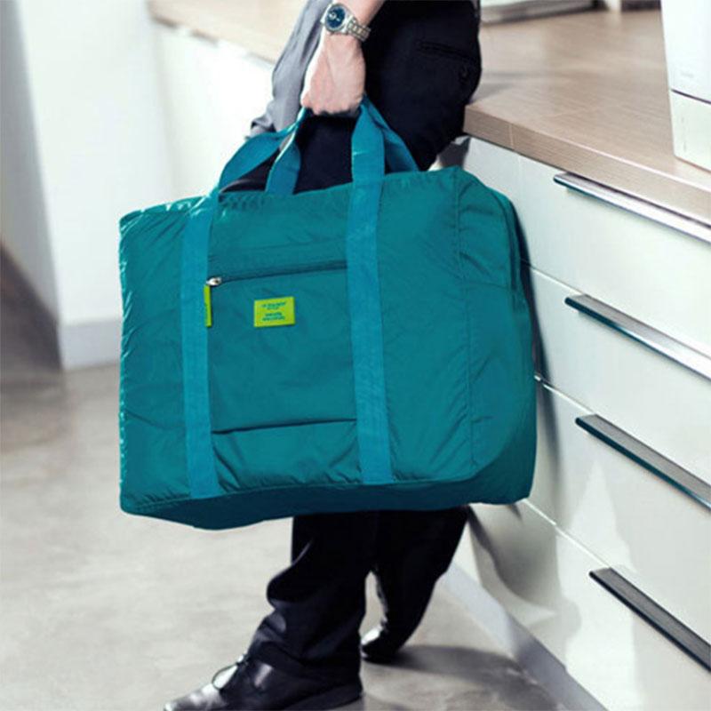 Wholesale Simple Multifunction Foldable Waterproof Travel Handbag Suitcase Storage Bag Large Capacity Shoulder Bags OH66