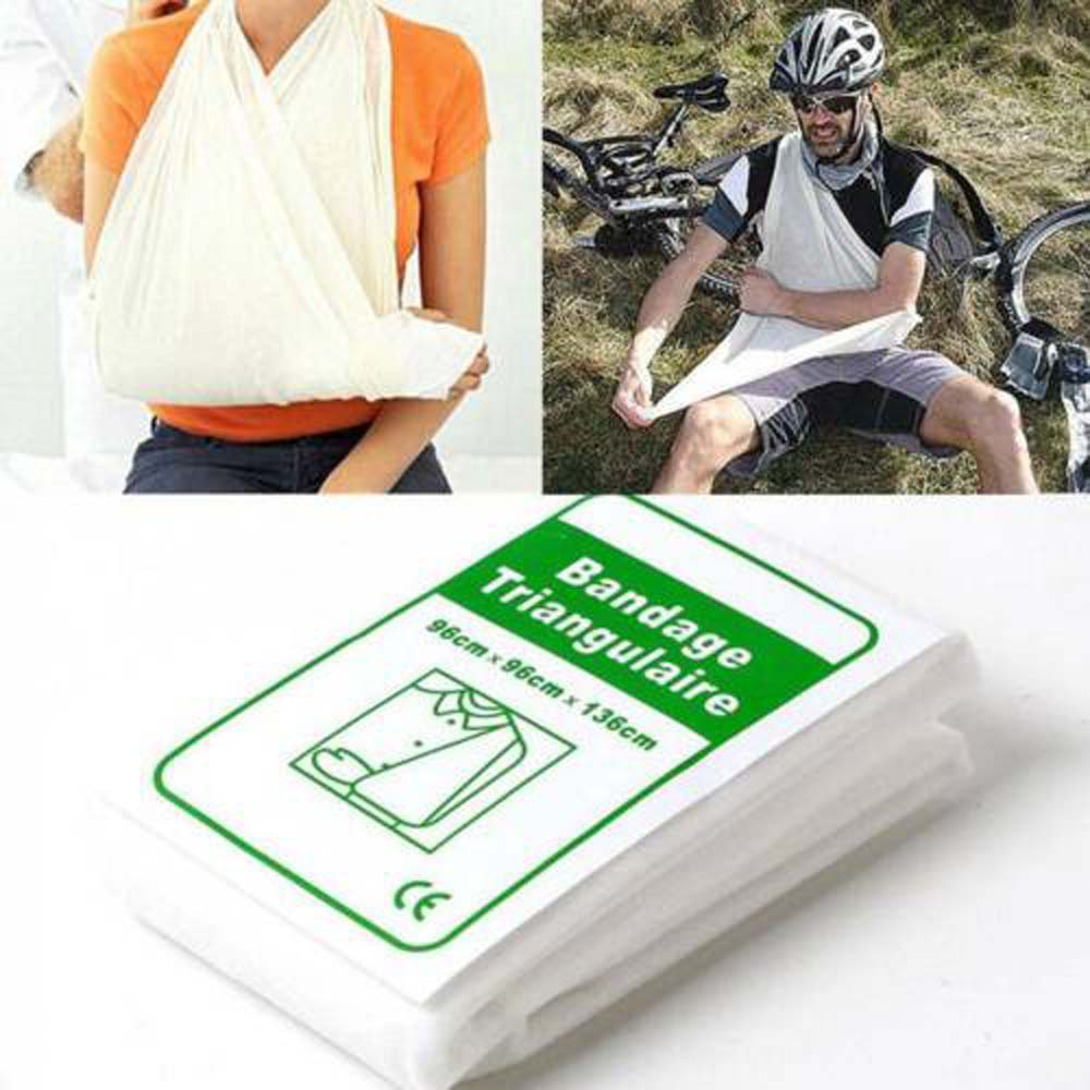 1 stücke Medizinische Verband Dreieckige Erste hilfe verband Bruch Fixierung Emergency First Aid Kit Camping Zubehör