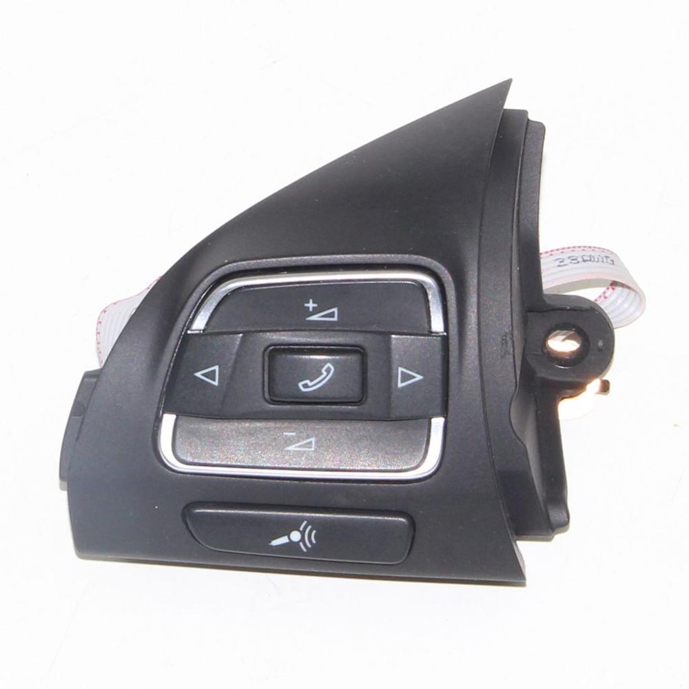 OEM Steering wheel Multifunction Button 5C0 959 537 A For VW Jetta MK6 VW Golf MK6 EOS Golf Plus <font><b>Tiguan</b></font> Touran Amarok Caddy image