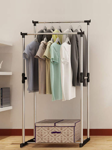 Image 3 - Fast Dispatch Sokoltec hanger home convenient drying rack multifunctional drying rack storage bag plastic storage rack