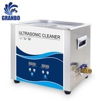 Digital Sonicator Bath 10Liter 240W/360W Ultrasonic Cleaner 220V 40khz Oil Mechanical Parts Washer Lab Electronic Board Manicure