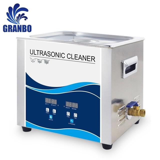 ดิจิตอล Sonicator Bath 10 ลิตร 240 W/360 W เครื่องดูดฝุ่นอัลตราโซนิก 220V 40khz น้ำมัน Mechanical อะไหล่เครื่องซักผ้า lab อิเล็กทรอนิกส์ Board ทำเล็บมือ