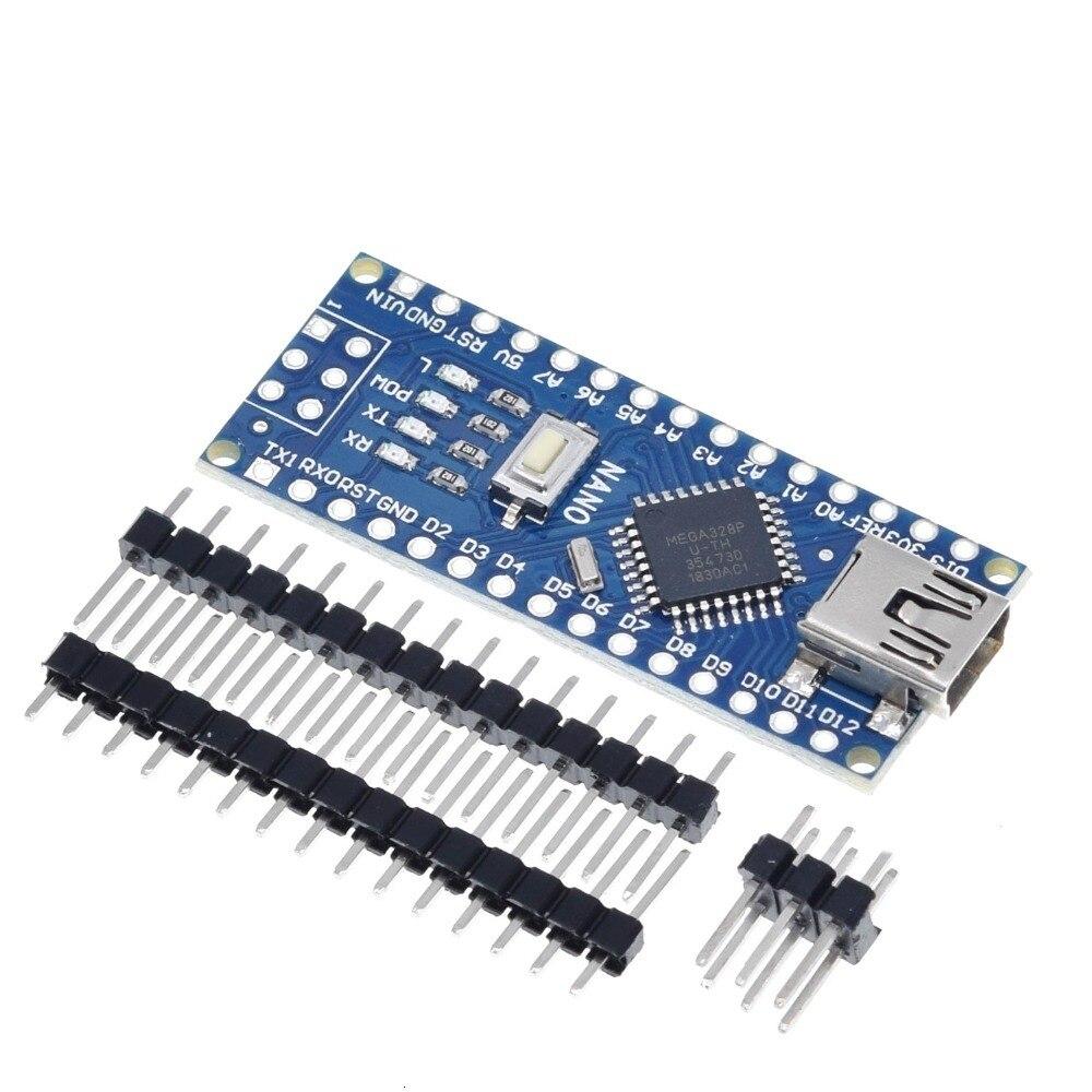 10 PCS/LOT Promotion pour arduino Nano 3.0 Atmega328 contrôleur Compatible carte WAVGAT Module carte de développement de carte PCB