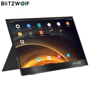 BlitzWolf BW-PCM4 15.6 Inch UHD 4K Type C Portable Computer Monitor Gaming Display Screen for Smartphone Tablet Laptop Console