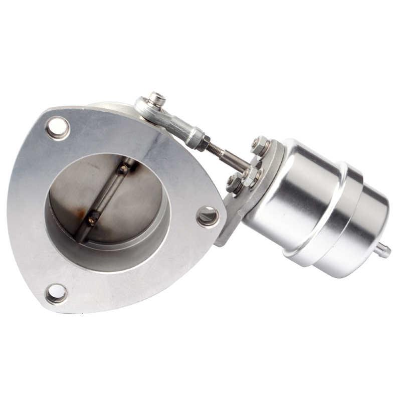 2.5 ''Memotong 63 Mm Pipa Knalpot Kontrol Potongan Valve dengan Vacuum Actuator Tutup Style Muffler Mobil Control Valve