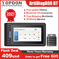 TOPDON ArtiDiag800 BT Bluetooth OBD2 Scanner Auto Tools All Systems Car Diagnostic Tool DPF EGR IMMO PK Autel MK808BT MK808