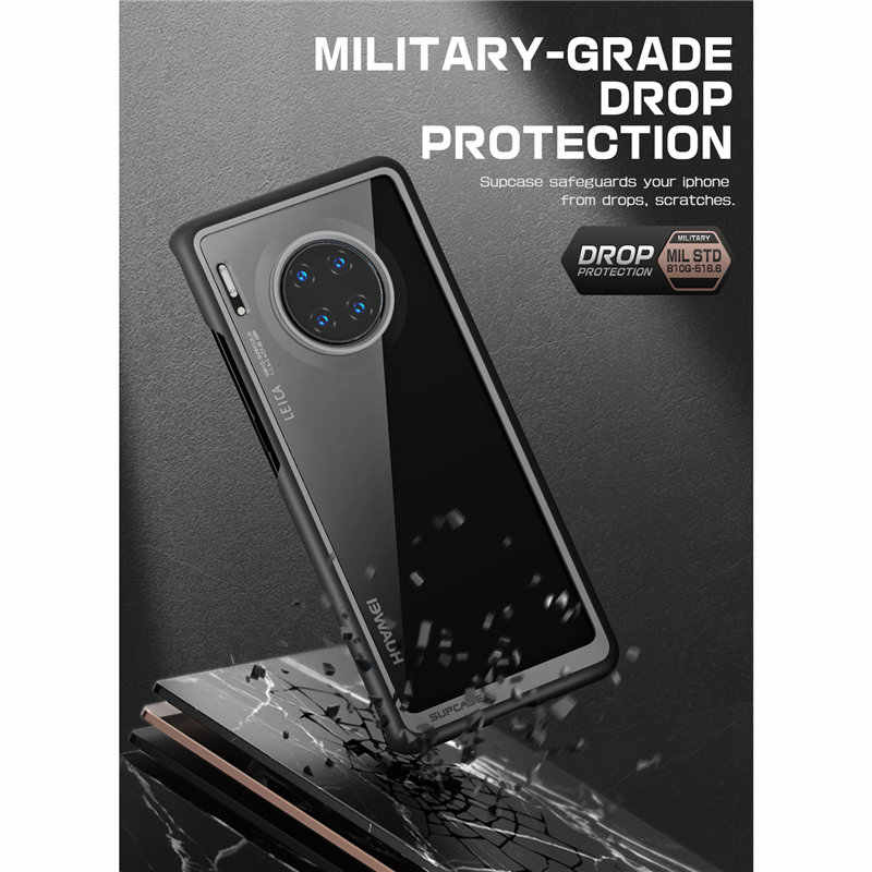 SUPCASE For Huawei Mate 30 Pro Case (2019 Release) UB Style Anti-knock Premium Hybrid Protective TPU Bumper PC Clear Back Cover
