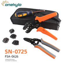 SN-0725 Multitool Wire Stripper Crimping Tool Crimper Cutter Pliers Cutting Tweezers Cable