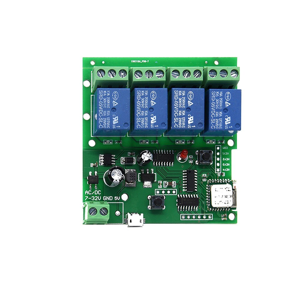 Sonoff 4CH-5V/7-32V Smart Remote Control Wireless Switch Universal Module