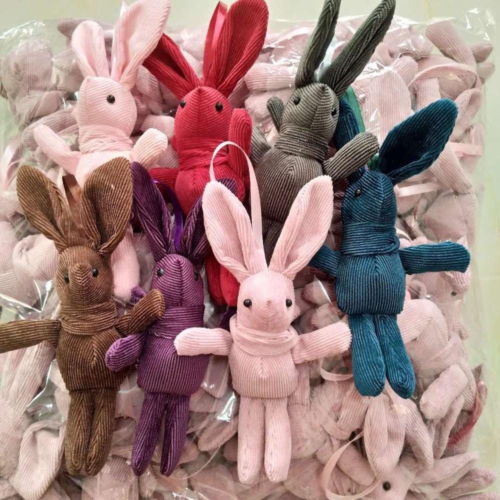 Bonito 18 CM aprox. Muñeco de peluche de conejo, pequeño juguete de peluche con colgante de regalo, muñecas de animales Set de instrumentos musicales de percusión de 19 Uds., juguetes educativos de ritmo y música para niños, conjunto de banda de sonajeros de madera, juguetes para niños, regalo