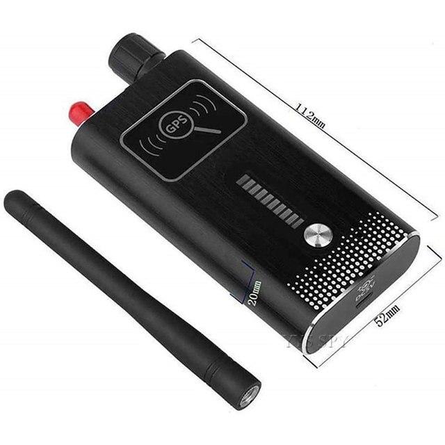 T6000 RF Signal Detector Anti Candid Hidden Camera Spy Gadgets Espias GSM GPS Tracker Wireless Audio Bug for Wiretapping Finder 6