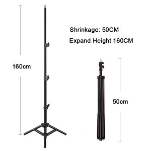 Image 4 - 10inch 26cm Photography LED Ring Light Kit Phone Studio Camera Light Makeup Video Fill Lamp With Phone Clip Tripod Stand 120 LED