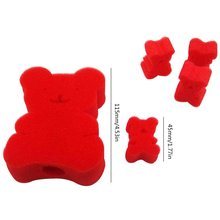 Creative Children Toy 4PCS Sponge Bear Magic Tricks Durable Magic Props Tricks Magical Toys Puzzle Game training central russian toy terrier tricks training russian toy terrier tricks