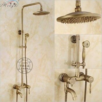 Grifo mezclador de 8 pulgadas montadas en latón y cobre, para baño,...