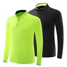 Мужская одежда для гольфа Спортивная рубашка с длинными рукавами
