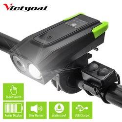 4000mAh inteligentne indukcyjne przednie światło roweru USB rower na akumulator LED reflektor 800 lumenów podwójna lampa T6 Horn Cycle latarka