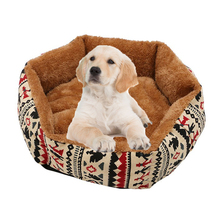 Warm Pet Dog Bed House for Dogs/Cats Winter Nest With Mat small Medium Large Dogs Cat Cushion S/M/L