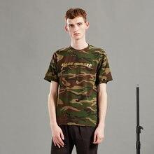 Мужская мода 2020 года молодежная брендовая зеленая камуфляжная