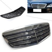 Car Front Grille AMG Style Upper Grill For Mercedes Benz S Class W221 S350 S400 S450 S500 S550 S600 2007 08 09 10 11 12 2013